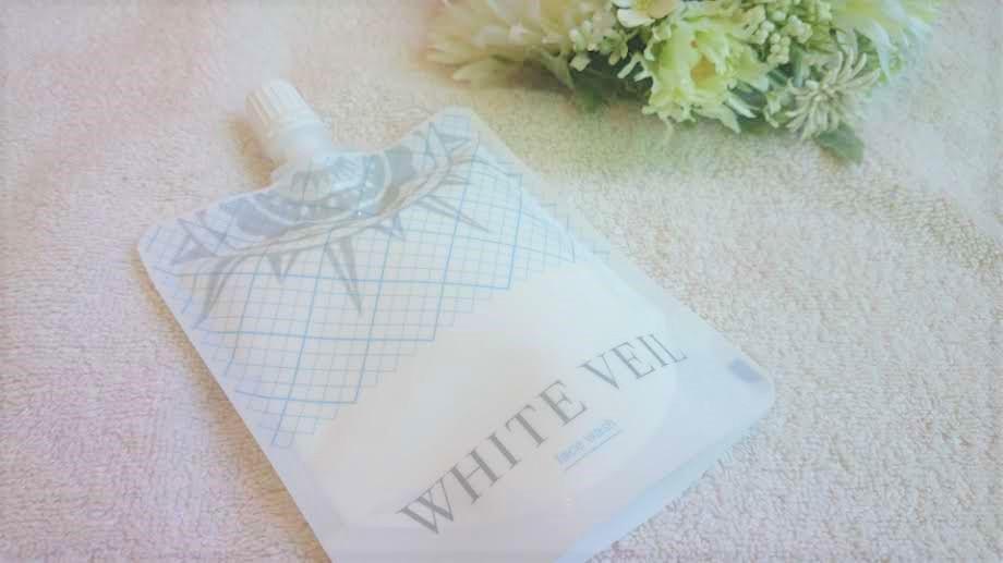 ホワイトヴェールの白雪洗顔